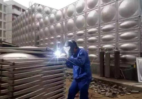 不锈钢消防水箱焊接