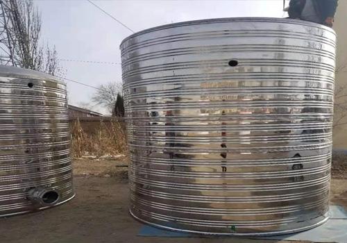 巴盟圆形水箱